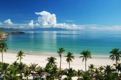 Setzen Sie Szene auf den Strand Lizenzfreies Stockbild