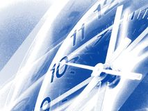 Setzen Sie Zeit Hintergrundes 4 fest Lizenzfreie Stockfotos
