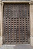 Seu Cathedral Church Door Palma, Majorca Royaltyfri Bild
