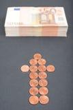Seu dinheiro está aqui Fotografia de Stock Royalty Free