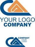 Seu logotipo da companhia Imagens de Stock Royalty Free