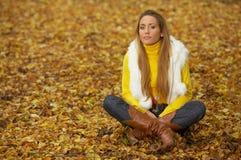 Seu outono! 2 Foto de Stock Royalty Free