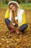 Seu outono! 2 Fotos de Stock Royalty Free