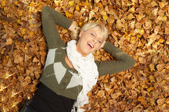 Seu outono! Fotos de Stock Royalty Free