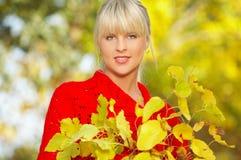 Seu outono! Fotos de Stock
