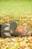 Seu outono! Imagens de Stock