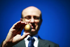 Seu ovo de ninho Fotografia de Stock Royalty Free