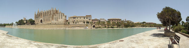 Seu, Palma de Mallorca-kathedraal Stock Foto