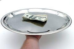 Seu senhor do dinheiro! foto de stock
