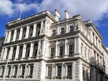 Seu Tesouraria de majestade em Whitehall de Londres Foto de Stock Royalty Free