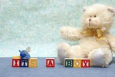 Seu um menino Foto de Stock