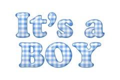 Seu um menino Imagens de Stock Royalty Free