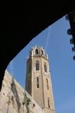 Seu Vella Lleida Catalunya fotografia de stock royalty free
