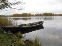 Seul bateau Image stock