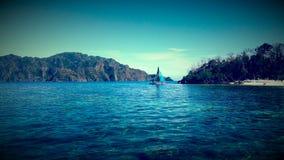 Seul bateau Photo stock