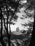 Seul Boulder Photographie stock libre de droits