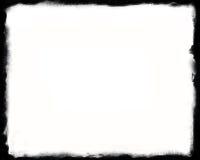 seul cadre 8x10 noir et blanc Photo stock