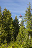 Seul Choix Point Lighthouse Royalty Free Stock Photos
