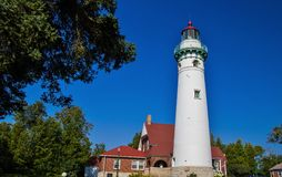Seul Choix Point Lighthouse Royalty Free Stock Images