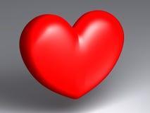 Seul coeur illustration stock