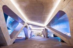 SEUL, COREA DEL SUR - 15 DE MARZO: Plaza del diseño de Dongdaemun Imágenes de archivo libres de regalías
