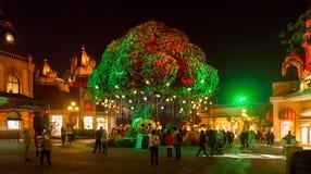 SEUL, COREA DEL SUR - 25 DE OCTUBRE: Decoraciones del partido de Halloween en Imágenes de archivo libres de regalías