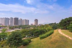 Seul Forest Park en la ciudad de Seul, Corea del Sur Fotografía de archivo
