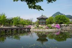 Seul - Hyangwonjeong fotografía de archivo libre de regalías