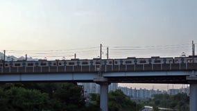 Seul metro biega na moscie zbiory
