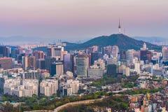 Seul miasto południowy Korea fotografia royalty free