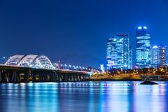 Seul miasto w Południowym Korea Fotografia Royalty Free