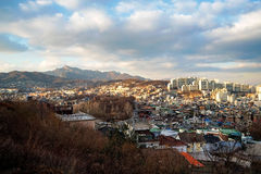 Seul natura i miasto zdjęcia stock