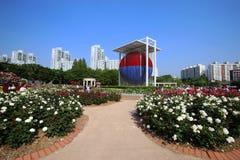 Seul Olimpijski park w Seul, południe zdjęcia royalty free