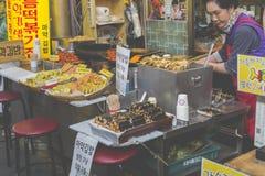 SEUL, PAŹDZIERNIK - 23, 2016: Tongin Hurtowy rynek w Seul, Sout Zdjęcia Royalty Free