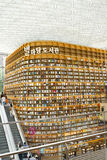 SEUL, Południowy Korea, Sierpień 27, 2017, ByeollMadang Starfield Coex placu biblioteka Fotografia Stock