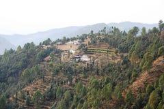 Seul village Image libre de droits