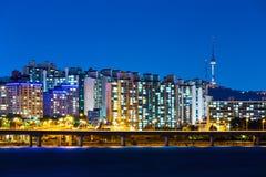 Seul w Południowym Korea obraz stock