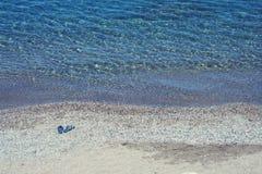 seule plage Image stock