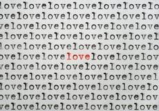 Seulement amour Photographie stock libre de droits
