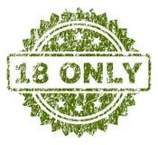 SEULEMENT joint texturisé rayé du timbre 18 Photographie stock libre de droits