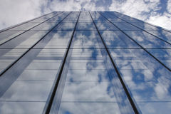 Seulement le ciel et les nuages Images libres de droits