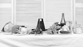 Seulement les meilleurs fruits et l?gumes Cuisson saine de nourriture Pr?paration et culinaire sain frais Recette culinaire image stock