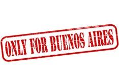 Seulement pour Buenos Aires illustration libre de droits
