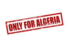 Seulement pour l'Algérie illustration de vecteur