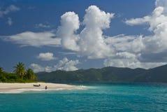 Seulement sur la plage Photographie stock libre de droits