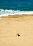 Seulement sur la plage Image libre de droits