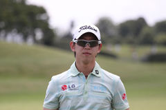 Seung Yul Noh at Golf Open de France. Albatros Golf Course, Paris, France,  July 01 Royalty Free Stock Image
