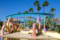 Seuss Land at Universal Studios in Orlando, FL. Seuss Land located at Universal Studios in Orlando, Florida stock photos