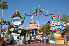 Seuss Landing in Universal Orlando Royalty Free Stock Image