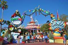 Seuss Landing in Universal Orlando, FL, USA. Seuss Landing in Islands of Adventure of Universal Orlando, Florida, USA royalty free stock photography